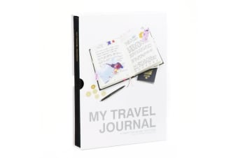 My Travel Journal | Suck UK globe trotter diary world