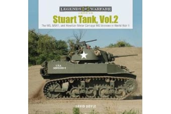 Stuart Tank Vol. 2 - The M5, M5A1, and Howitzer Motor Carriage M8 Versions in World War II