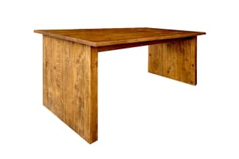 Cob&Co 180cm Table (Rustic Wood)