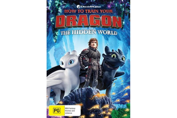 How to Train Your Dragon The Hidden World DVD Region 4