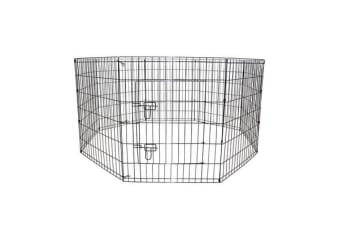 8 Panel Foldable Pet Playpen 24""