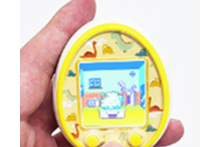 Select Mall 1.5 Inches LCD Screen Handheld Game for Kids Portable Video Game Player Built-in 12 Classic Games Birthday Present for Children-Yellow