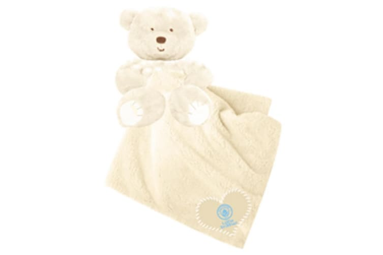 Manchester City FC Childrens/Kids Love And Hugs Comfort Blanket (White) (One Size)