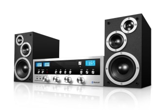 Innovative Technology Classic CD Stereo System with Bluetooth (ICDS-5000)