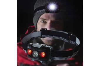 Explorer 4-in-1 Adjustable Head Torch | travel hiking adjustable camping boating cycling