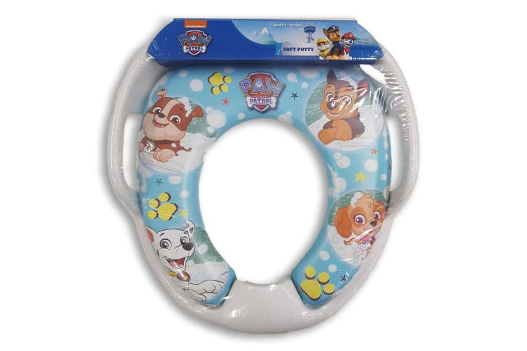 Paw Patrol Soft Padded Potty Seat for Toilet Training Toddler/Kids/Child 2y+ BL