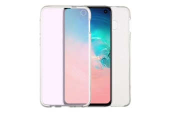 For Samsung Galaxy S10e Case Transparent Full Cover Ultrathin Double-sided Cover
