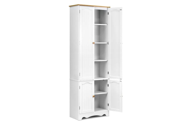 1.8m Tall Six-Tier Pantry Cupboard
