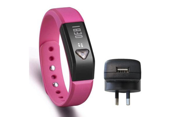 Fitness Band Smart Watch Bluetooth Pedometer Tracker Ios Android Apple + Charger