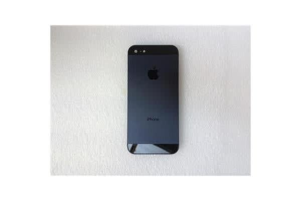 iphone 5 Middle Frame+Back Cover assembly  Black (Parts Only)