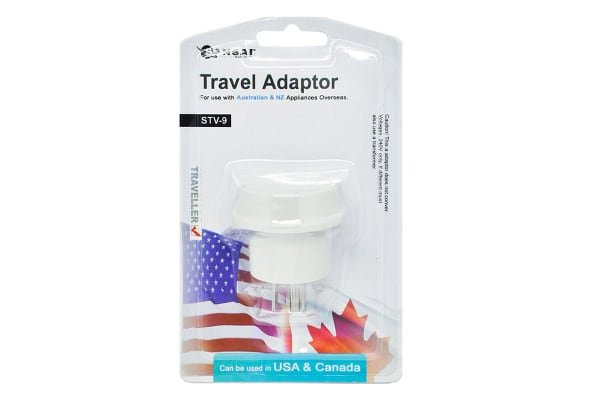 Sansai Travel Adapter - USA & Canada (STV-9)