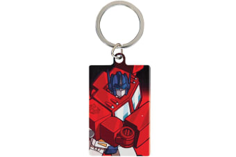 Transformers Optimus Prime Key Ring (Multicoloured) (One Size)