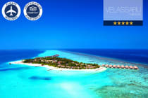 MALDIVES: 5 Nights at Velassaru Maldives Resort Including Flights for Two