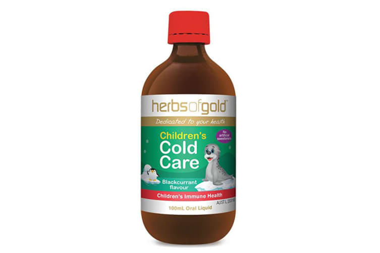 Herbs Of Gold Children's Cold Care 100ml Oral Liquid