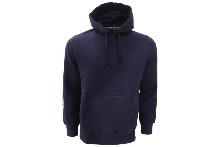Canterbury Mens Team Hooded Sweatshirt/Hoodie (Navy) (L)