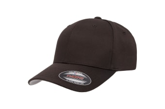 Flexfit Unisex Wooly Combed Cap (Brown)