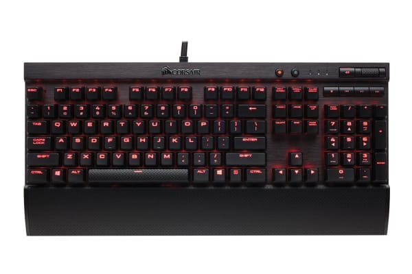 Corsair K70 LUX Mechanical Keyboard Red LED Cherry Brown
