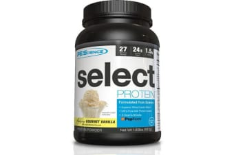 Pescience - Select Protein - Gourmet Vanilla Flavour - 837g