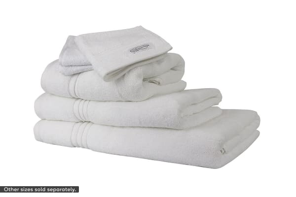 Onkaparinga Ethan 600GSM Bath Sheet Set of 2 (White)
