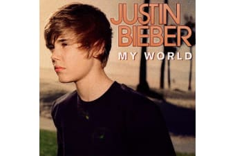 Justin Bieber ‎– My World BRAND NEW SEALED MUSIC ALBUM CD - AU STOCK