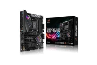 ASUS ROG STRIX B450-F GAMING ATX For AMD Ryzen Socket AM4. AMD B450 Chipset 4X DDR4-3200