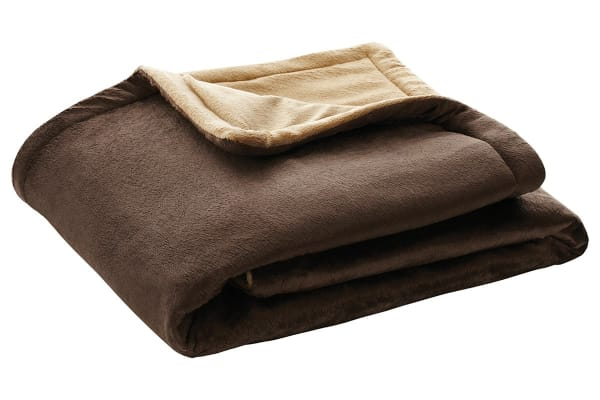 Heller Heated Throw Rug - Chocolate (HTR160)