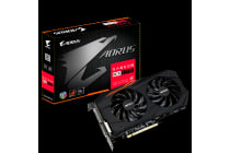 Gigabyte AMD Radeon RX570 AORUS 4GB DDR5 PCIe Video Card 8K 7680x4320 5xDisplays DVI HDM 3xDP 1295/1280 MHz RGB Windforce 2X CrossFire Eyefinity
