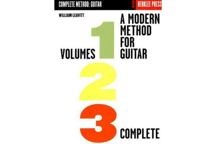 A Modern Method for Guitar- Complete - Volumes 1, 2, 3