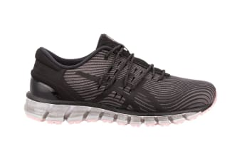 ASICS Women's Gel-Quantum 360 4 Running Shoe (Carbon/Black, Size 8)