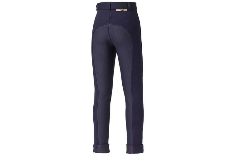 Harry Hall Childrens/Kids Chester Sticky Bum Breeches (Navy Blue) (28 inches)