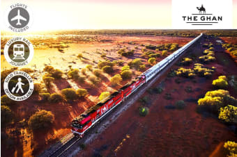 The Ghan – 5/6 Day Luxury Rail Package from Adelaide to Darwin Including Flights