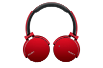 Sony Extra Bass Bluetooth Headphones - Red (SNY-MDRXB650BTR)