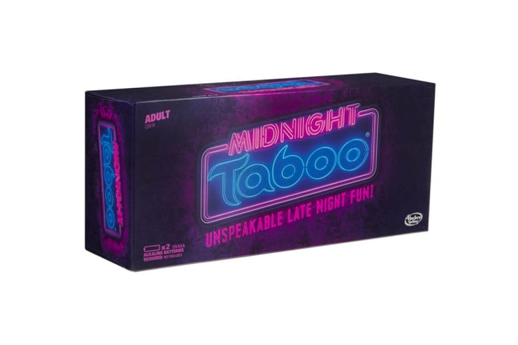 Hasbro Taboo Midnight (18+)