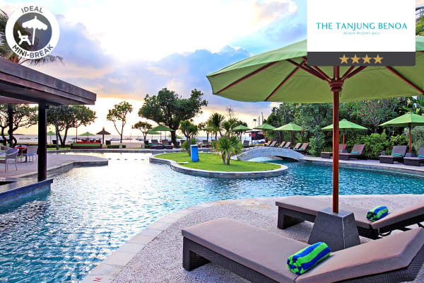 BALI: 7 Nights at The Tanjung Benoa Beach Resort, Bali for Two (Deluxe Garden View Room)