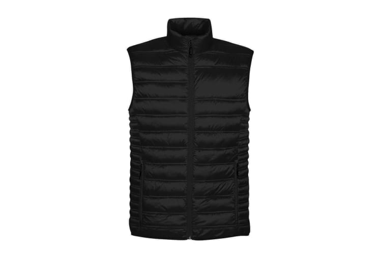 Stormtech Mens Basecamp Thermal Quilted Gilet (Black) (S)
