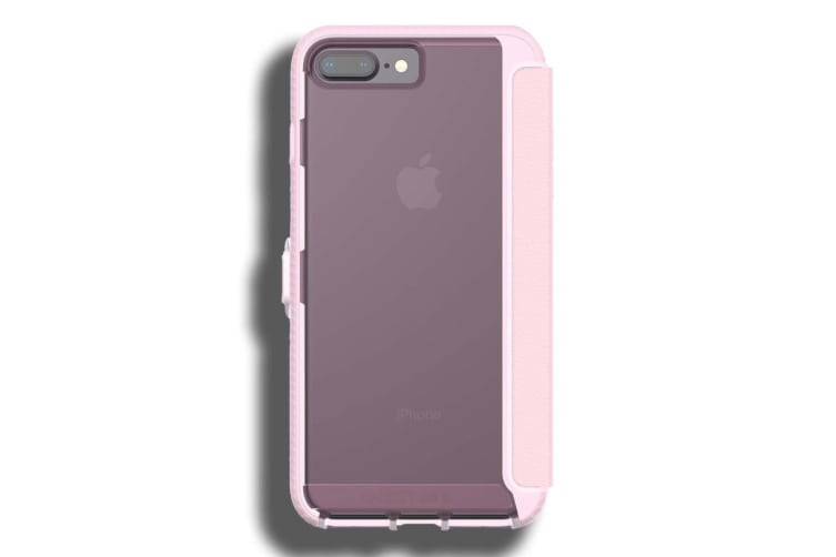 new arrival 15cb2 ee289 Tech21 Evo Wallet Case for Apple iPhone 7 Plus / 8 Plus - Pink