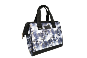 New Sachi Portable Insulated Lunch Bag Case StorageTravel Bag Highland Chic