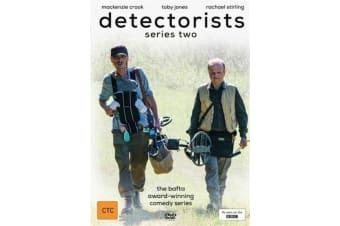 Detectorists : Series 2  Region 4  -Comedy Series Rare- Aus Stock Preowned DVD: DISC LIKE NEW