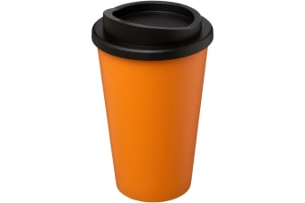 Americano 350ml Insulated Tumbler (Orange/Solid Black)