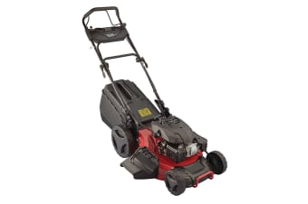 909 196cc Self Propelled 4 Stroke Petrol Lawn Mower with Side Discharge & Mulching
