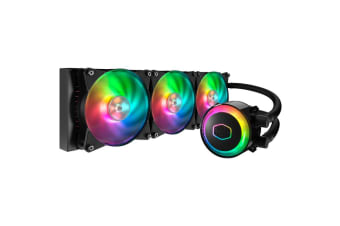 Cooler Master MasterLiquid ML360R All in One Watercooling with 3 X Addressable RGB 120MM  fan -