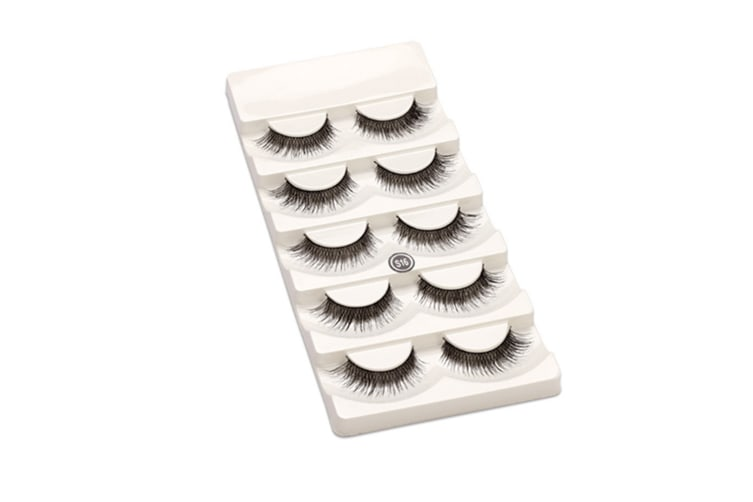 Women Natural Handmade Soft False Eye Lashes Extension 5 Pairs