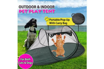 Outdoor Portable Cat Dog Cage Tent Foldable