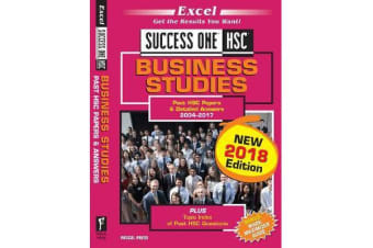 Excel Success One HSC - Business Studies Study Guide 2018