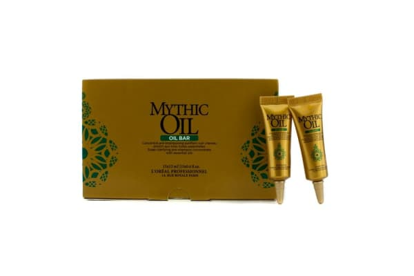 L'Oreal Mythic Oil Scalp Clarifying Pre-Shampoo Concentrate with Essential Oils (15x12ml/0.4oz)