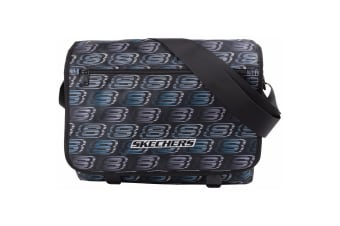 Skechers Unisex Original Messenger Bag (Black)