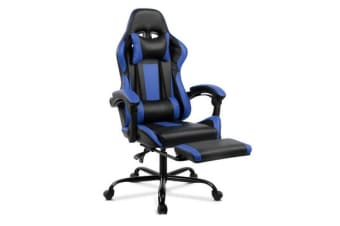 Racer Executive Chair (Black/Blue)