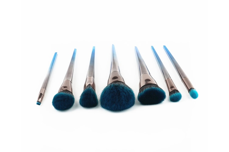 Cosmetic Brushes Gradient Color Cosmetic Brushes Set Tool Makeup Brushes