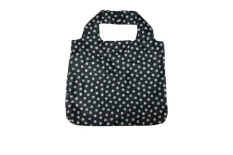 Davis & Waddell Reusable Bag 54x44cm Black Dots
