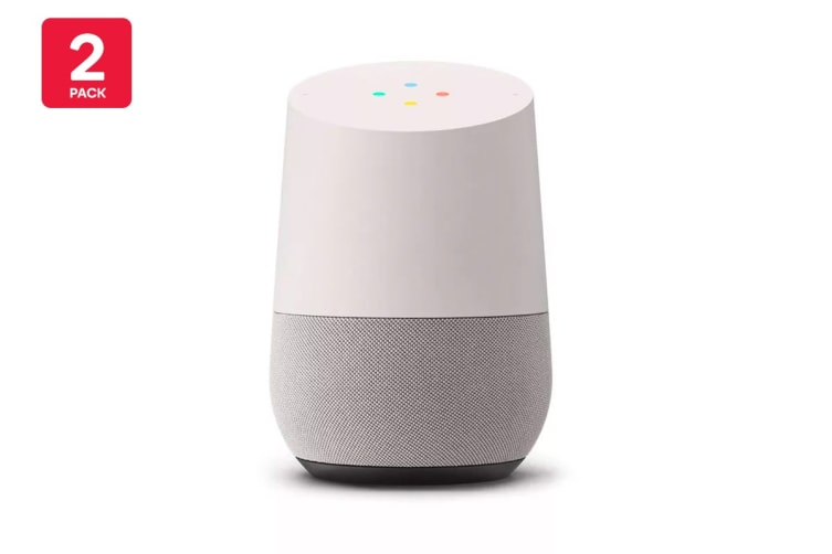 Google Home (White) - Australian Model - 2 Pack